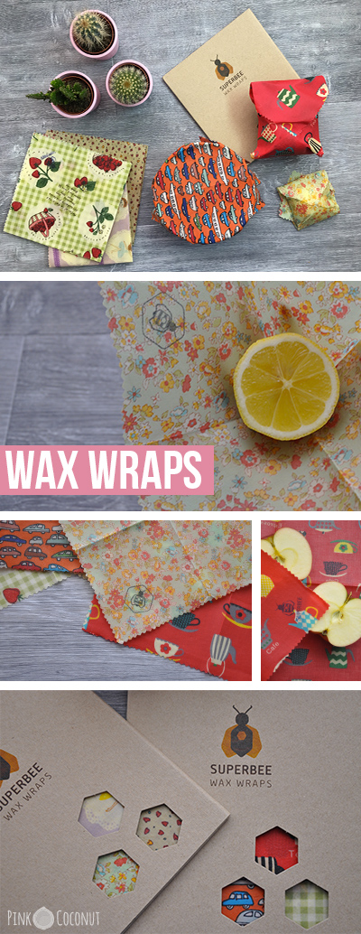 Wax Wraps, l'alternative naturelle pour remplacer le cellophane et le papier aluminium