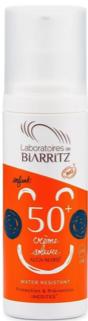Laboratoires Biarritz Crème solaire Enfant SPF50+ - 100ml certifiée Bio