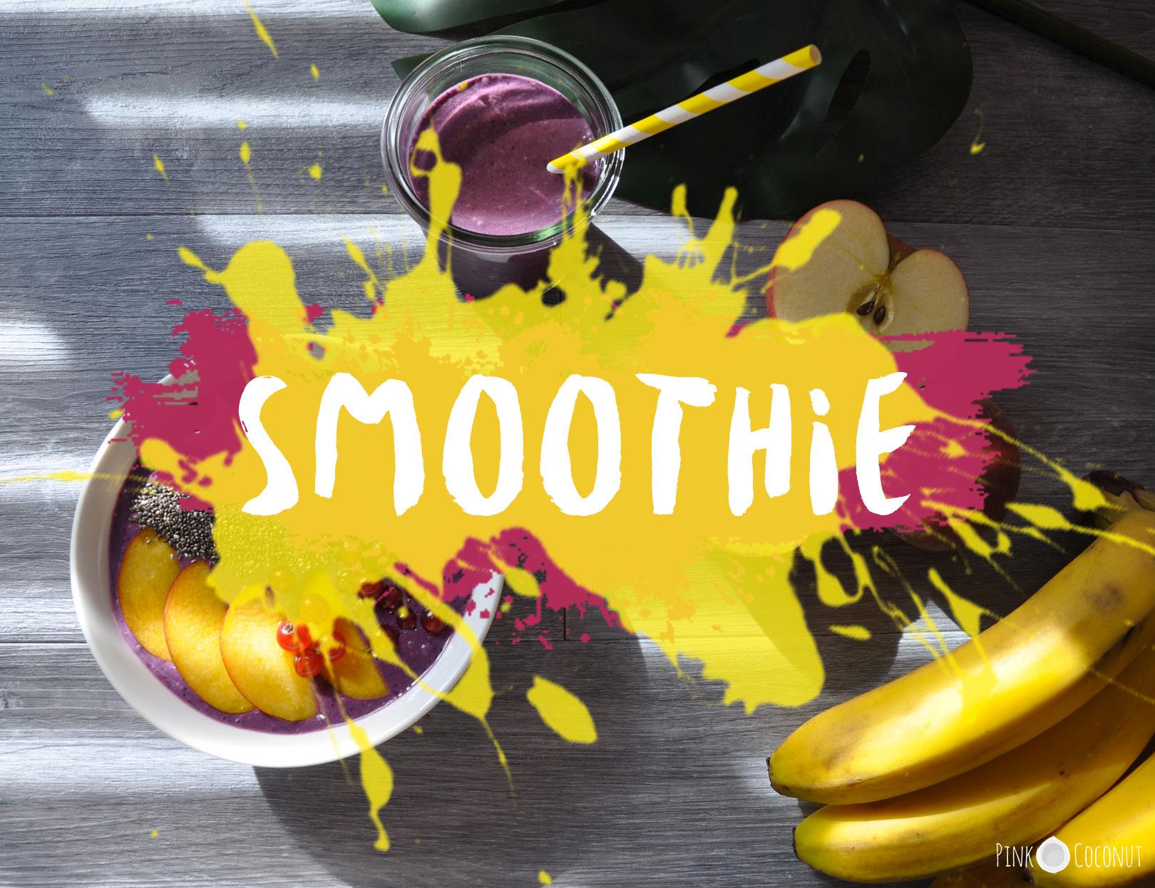 Smoothies, une recette pour un petit-déjeuner sain et rapide pour toute la famille