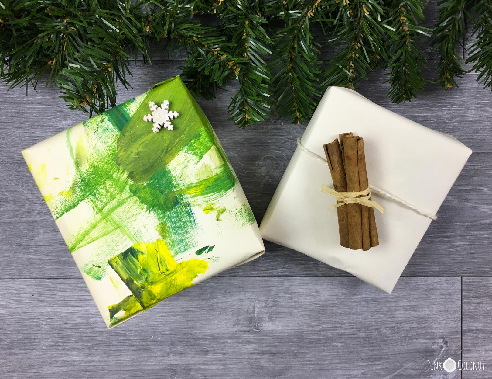 Emballages cadeaux pour un Noël écolo
