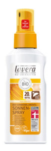 Lavera - Spray solaire visage & corps BIO IP 20 tournesol & vitamine E - 125ml - Lavera Sun