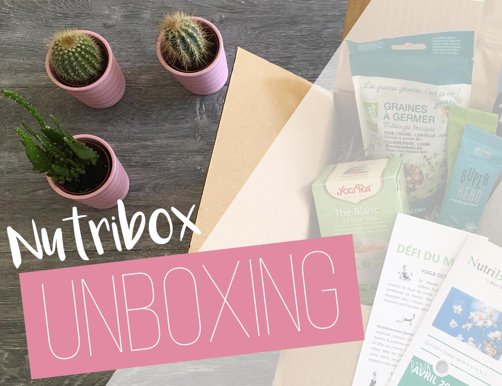 NutriBox, une box pour être bien dans son corps