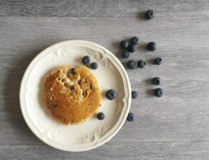 photo de Pancake délicieux et moelleux sans beurre et sans lait