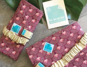 besurprise, l'emballage en tissu pour des cadeaux zéro-déchet !