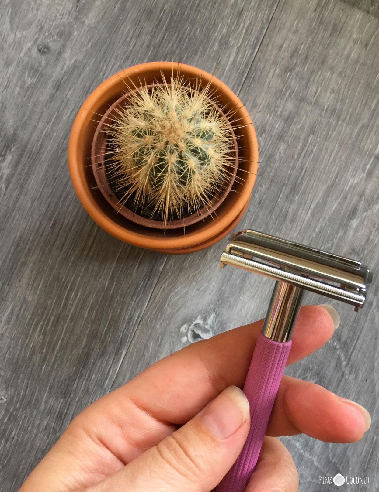 Rasoir en inox réutilisable, sans plastique, une alternative zéro-déchet et durable